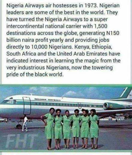 nigeria airways 1973